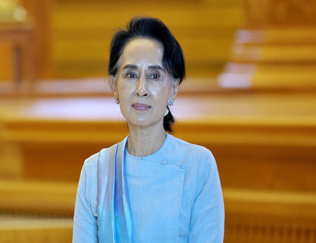 Myanmar's Aung San Suu Kyi goes on trial