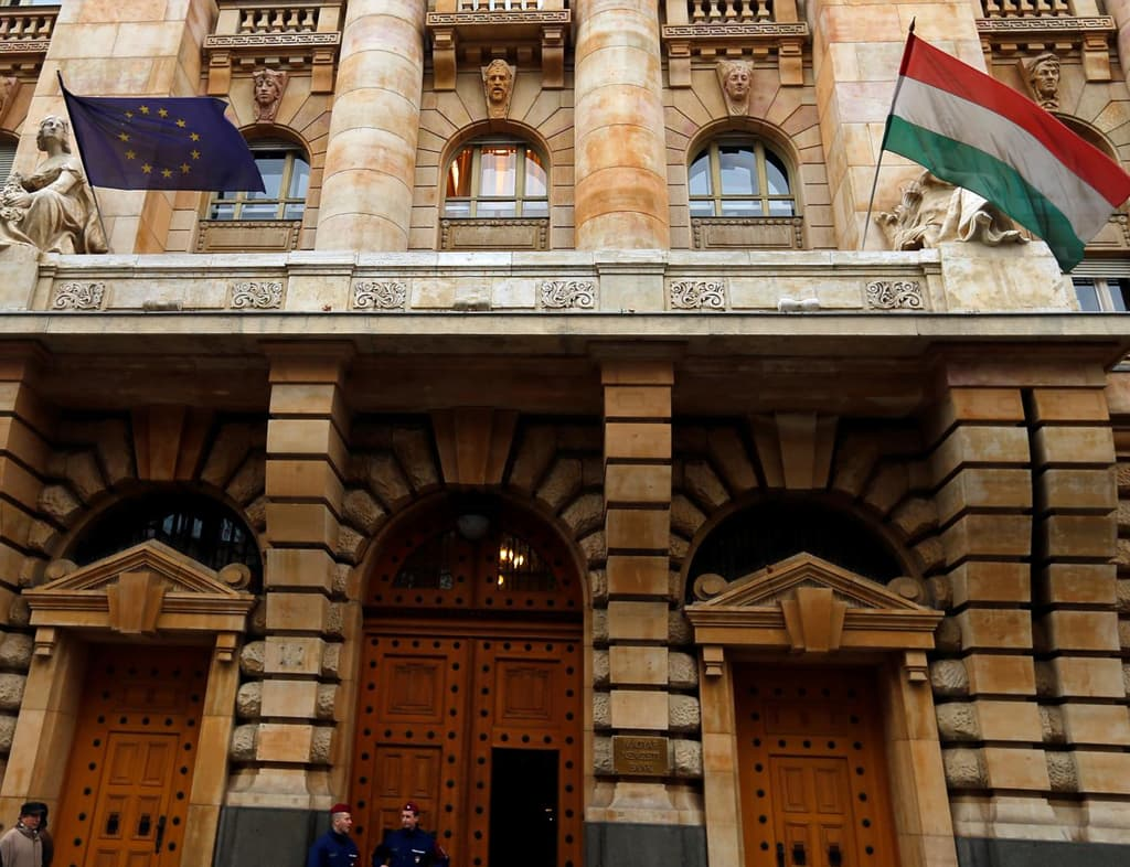Hungary central bank seen raising base rate by 25 bps next week