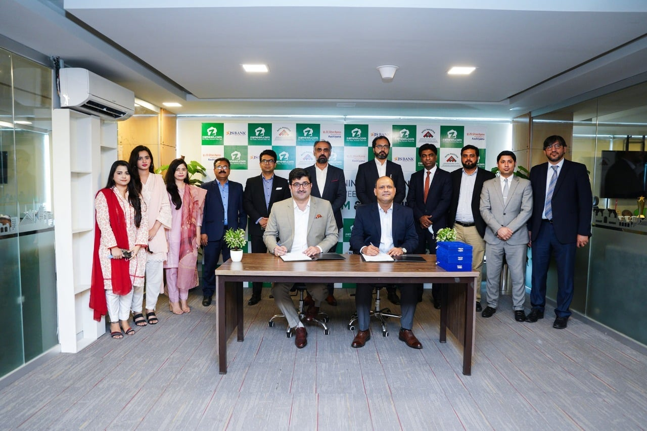 Zameen.com, JS Bank sign MoU to promote home financing solutions