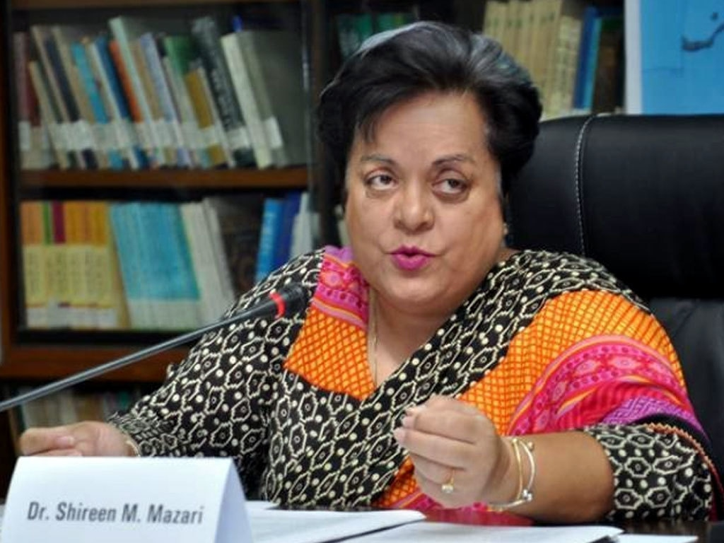 Mazari assures Sherry: Two 'disappeared' bills to be supported by govt