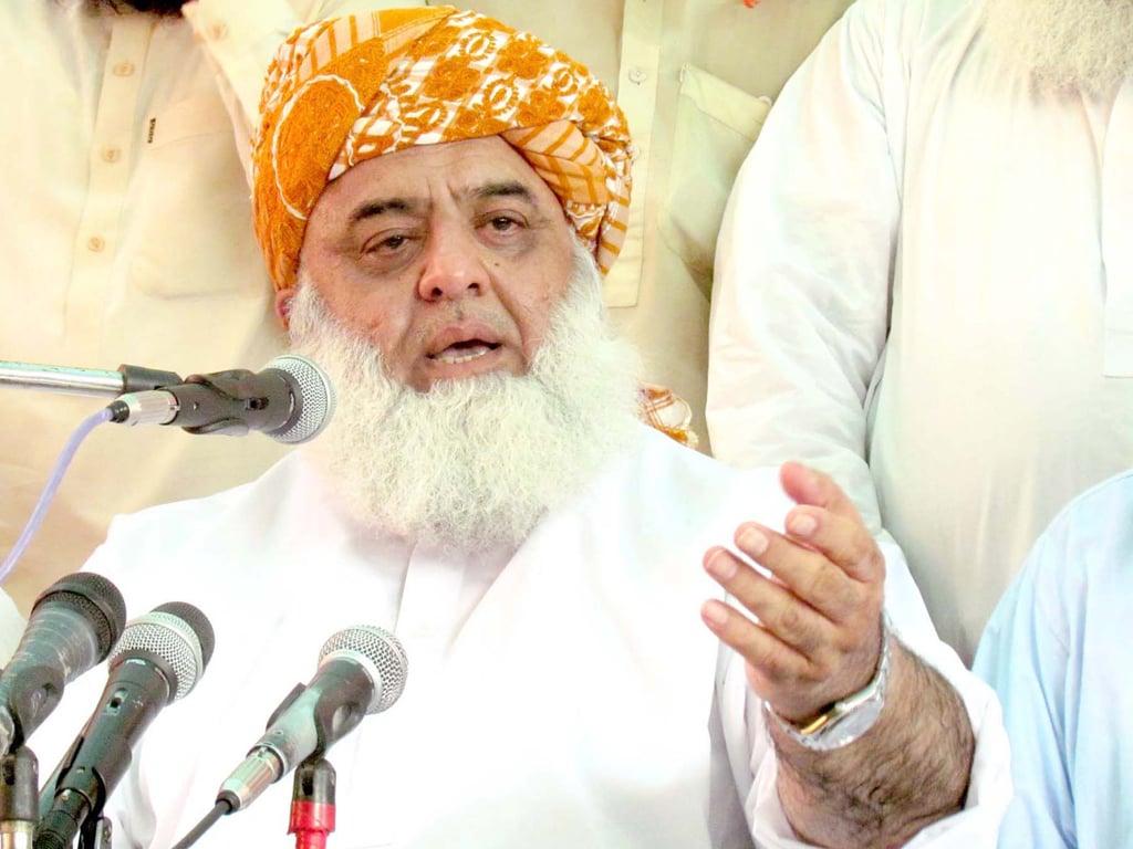 Fazl announces anti-government rallies in Swat, Karachi