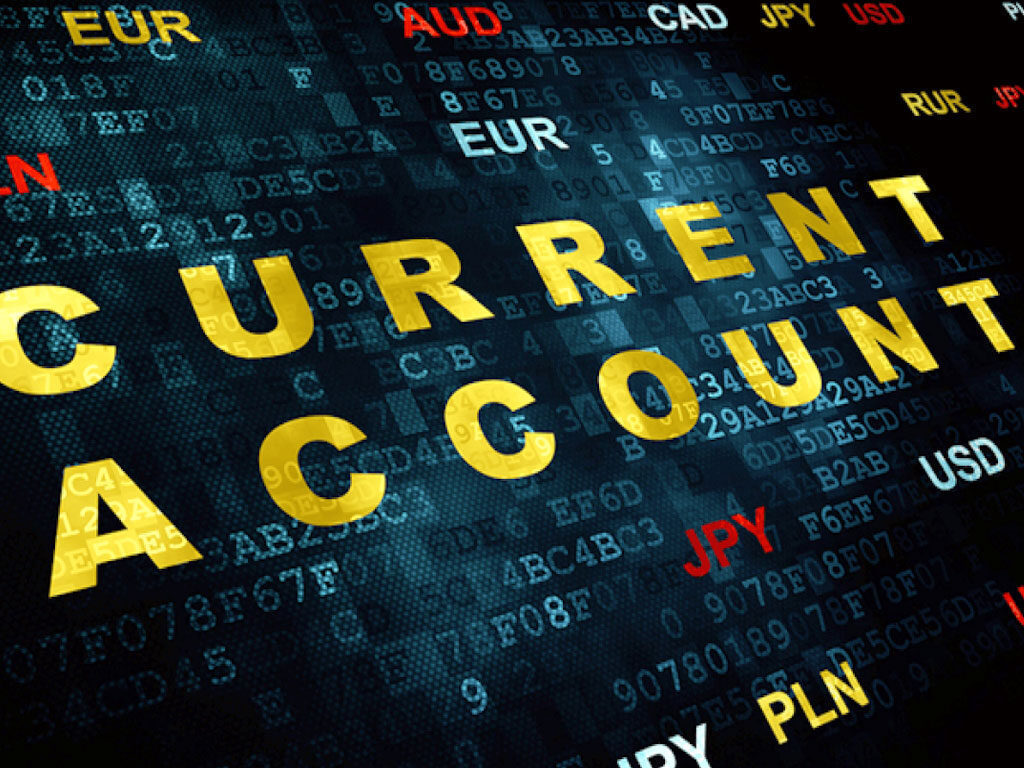 Saving the current account