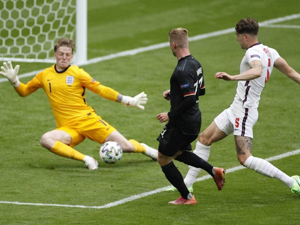 Pickford silences critics as England goalkeeper stars at Euro 2020