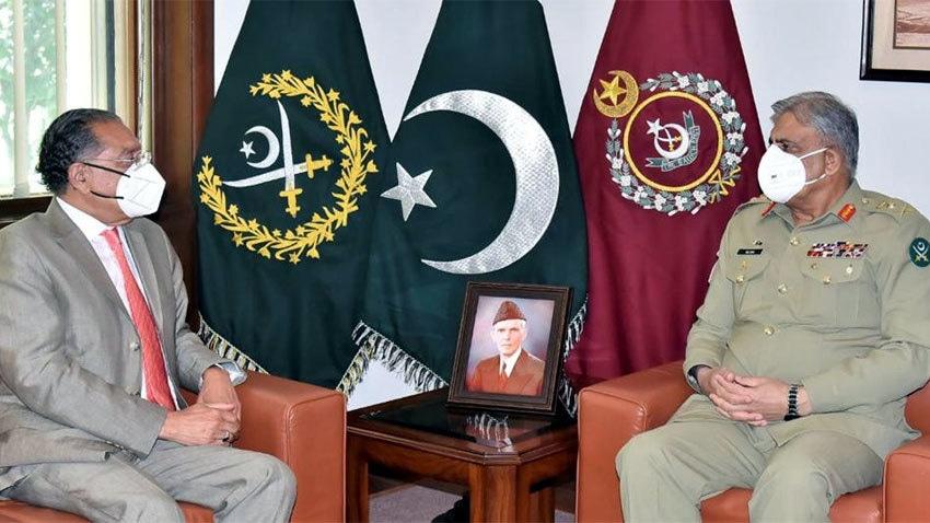 COAS Bajwa, Permanent UN Representative discuss regional security