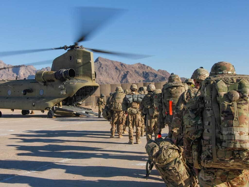 Complete Afghan withdrawal imminent as last US troops leave Bagram - World  - Business Recorder