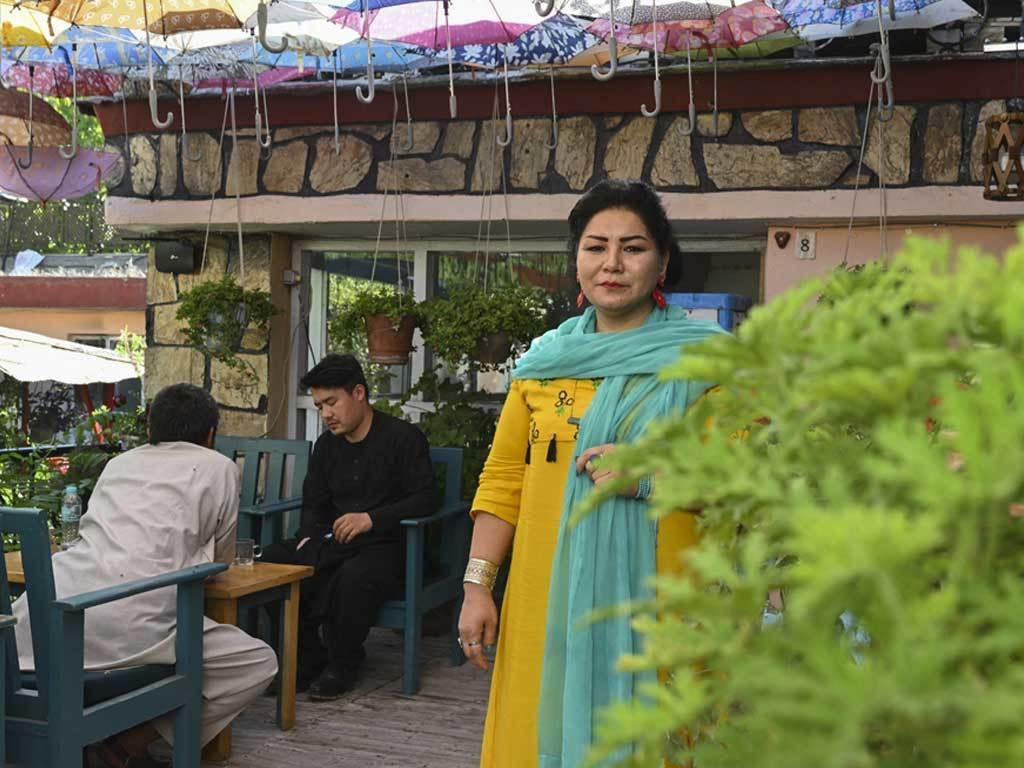 Laila Haidari, the mother to Kabul's drug addicts