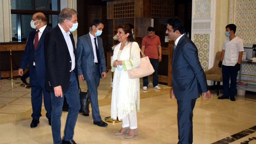 FM Qureshi reaches Dushanbe to lead Pakistan at SCO-CFM meeting