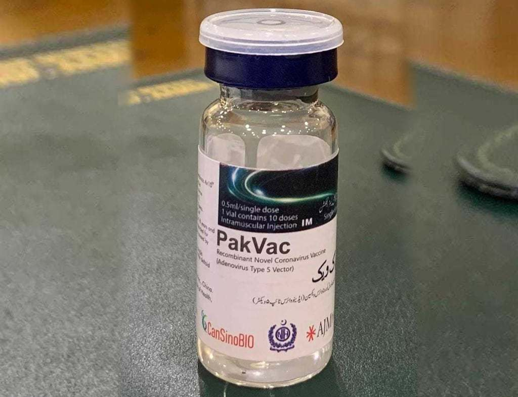 NA informed: 'NIH started manufacturing PakVac from concentrate bulk in May with CanSinoBIO China'