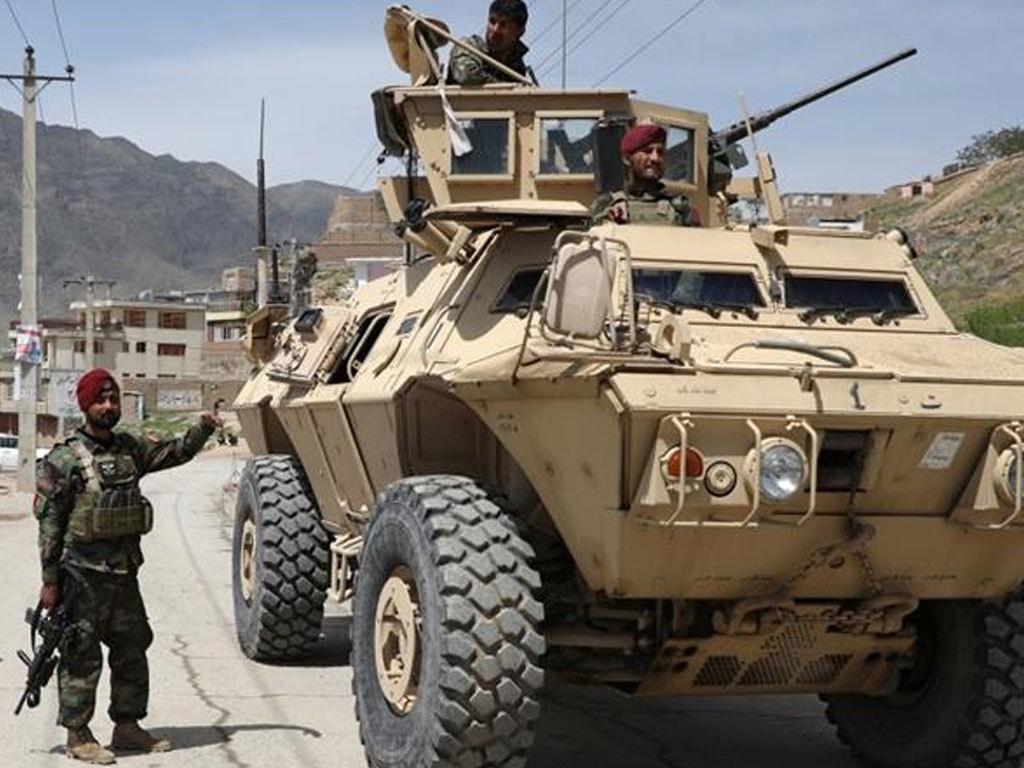 Afghan forces capture four Taliban for Eid rocket attack