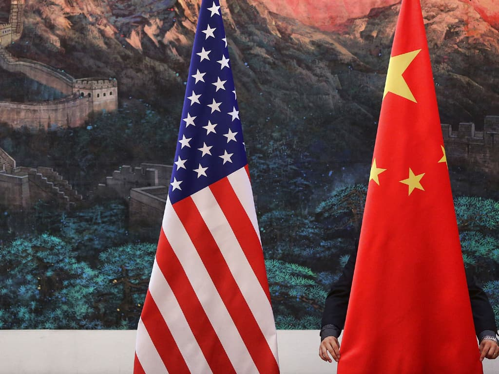China accuses US of creating 'imaginary enemy' during high-level talks