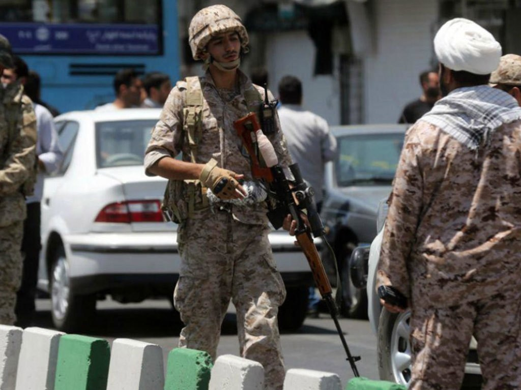 Iran says it detains agents working for Israel, seizes arms cache