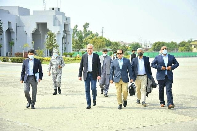 FM Qureshi leaves for Bahrain on two-day visit