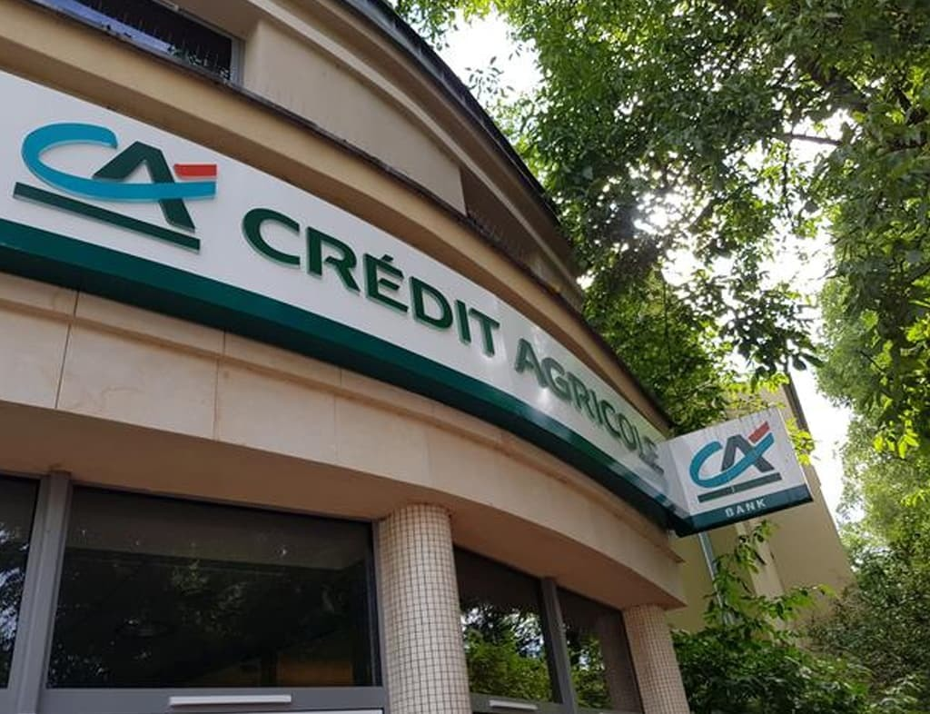 Credit Agricole's Q2 profit doubles as state cushions COVID-19 pains