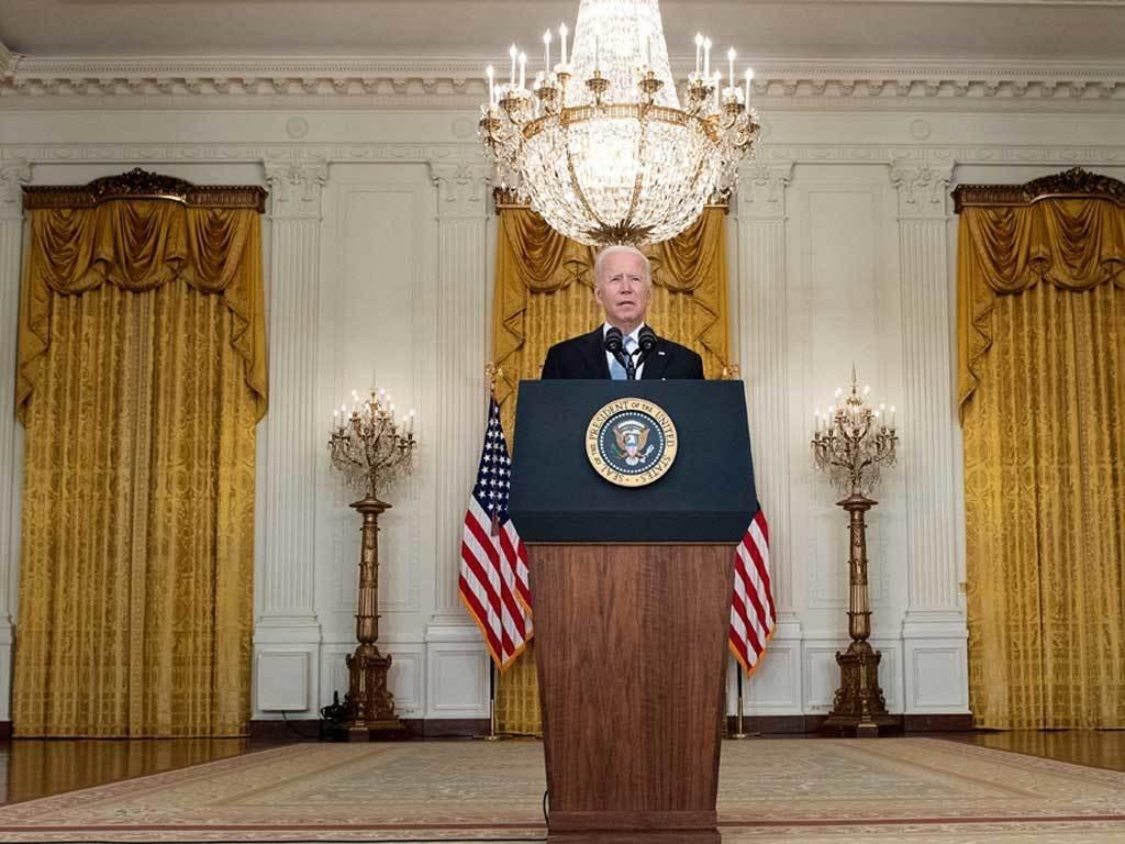 Biden defends US pullout, blames Afghan govt that 'gave up and fled'
