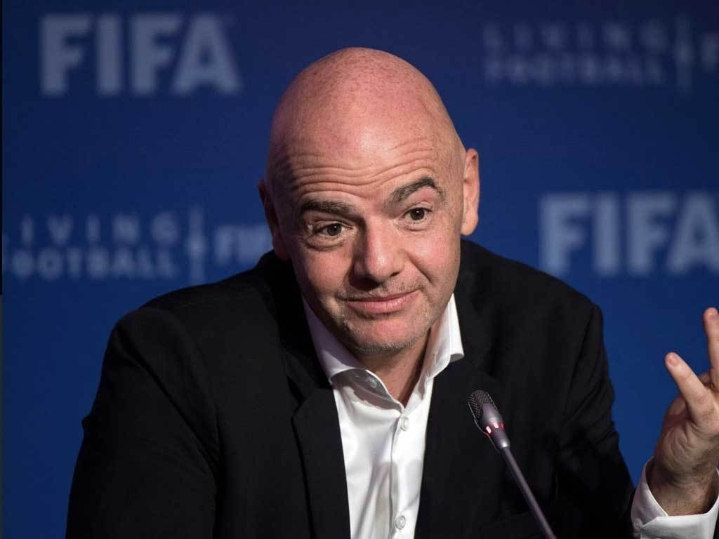 FIFA's Infantino calls for 'solidarity' in player release Covid spat