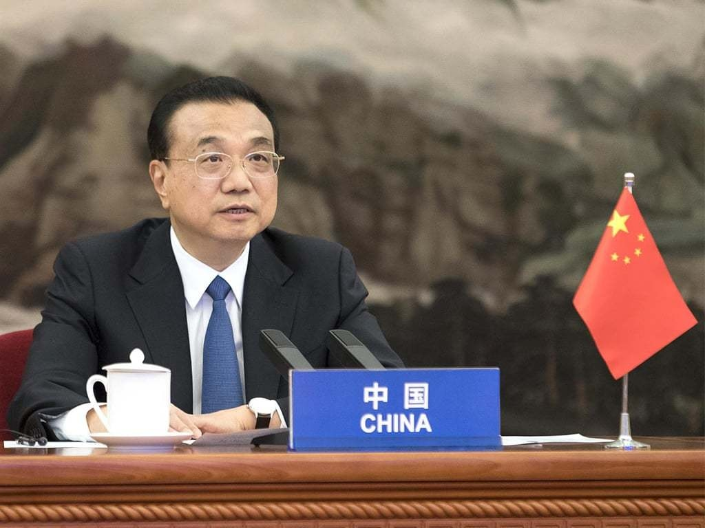 China premier urges major powers to 'take responsibility' for environment