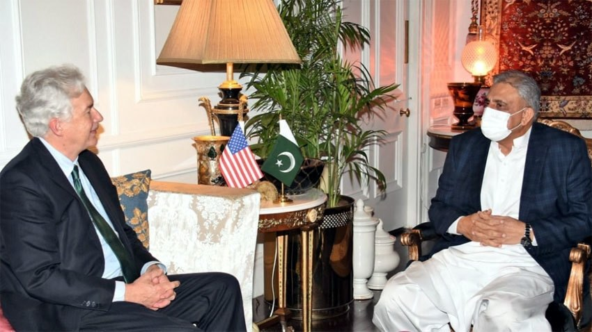 CIA chief meets COAS, praises Pakistan's role
