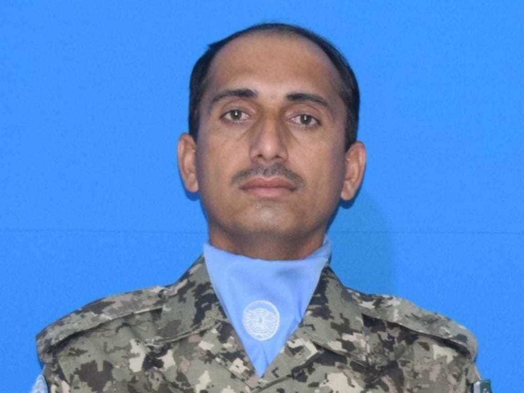 UN peacekeeper martyred in Sudan: ISPR