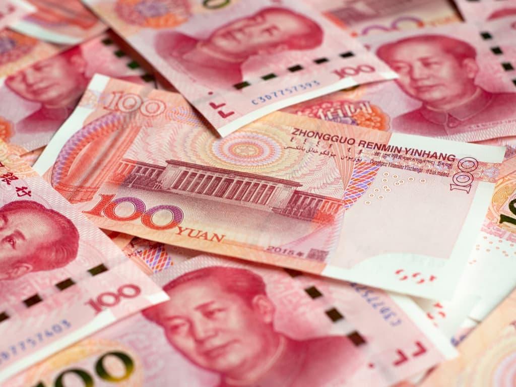 China's yuan off 1-week high, dollar demand weighs