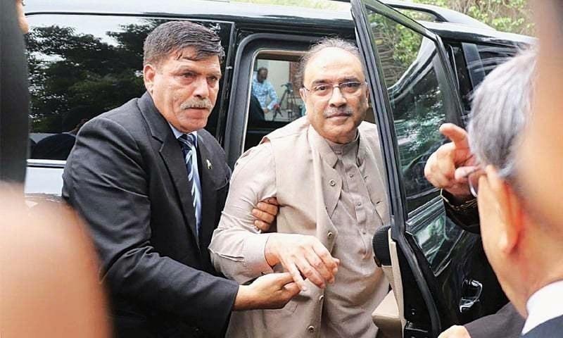 Zardari moves accountability court for acquittal in Toshakhana case
