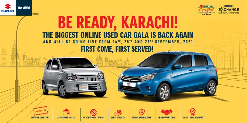 Suzuki Pakistan: pioneer of online used car gala brings it back to Karachi