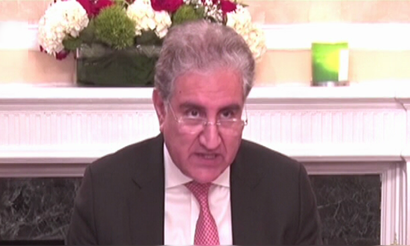Qureshi highlights India's human rights violations in IIOJK, asks OIC to facilitate resolution
