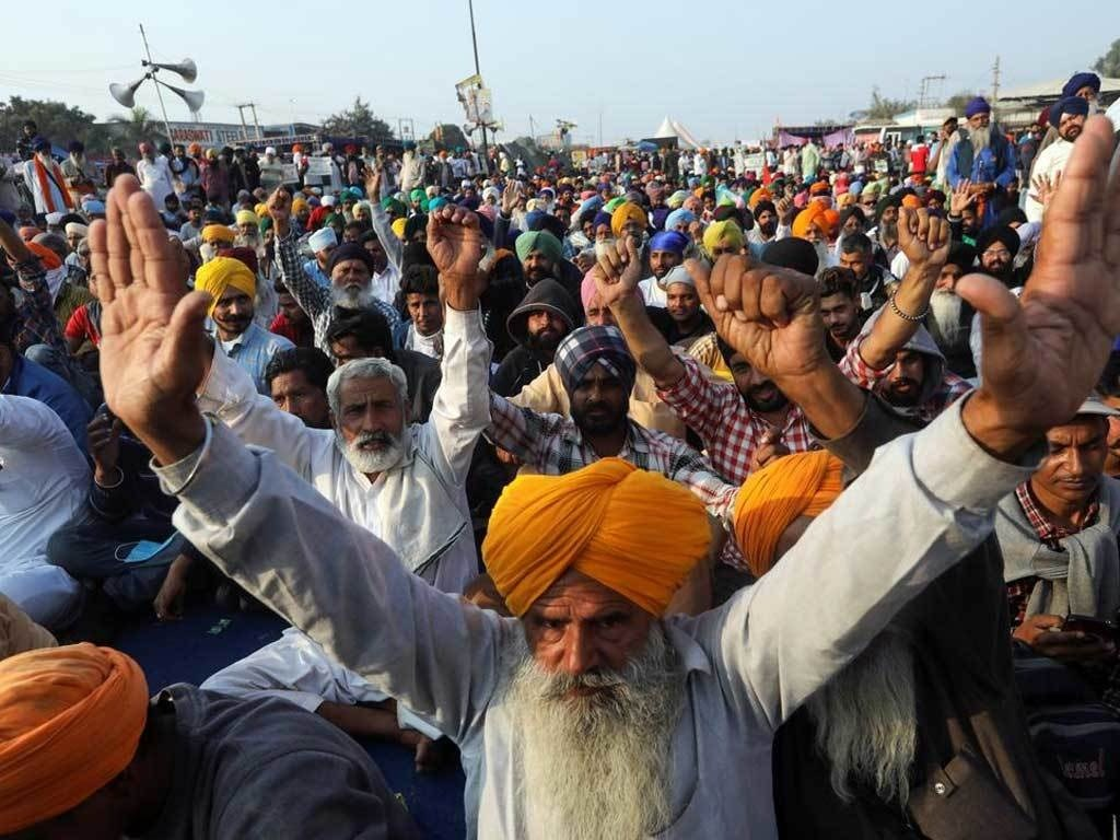 Indian farmers to step up protests after eight killed in clashes