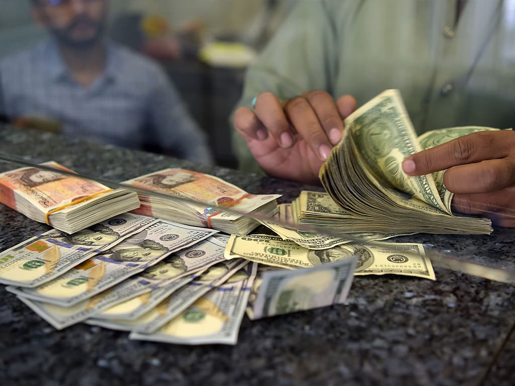 A new all-time low for Pakistan's rupee against US dollar