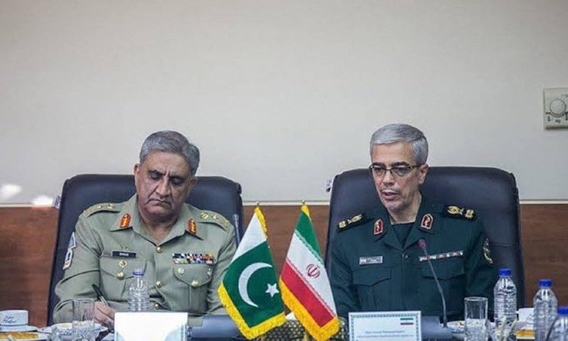 Pakistan, Iran military leaders agree to enhance security cooperation