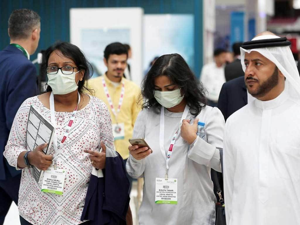 UAE's daily COVID-19 cases fall below 100