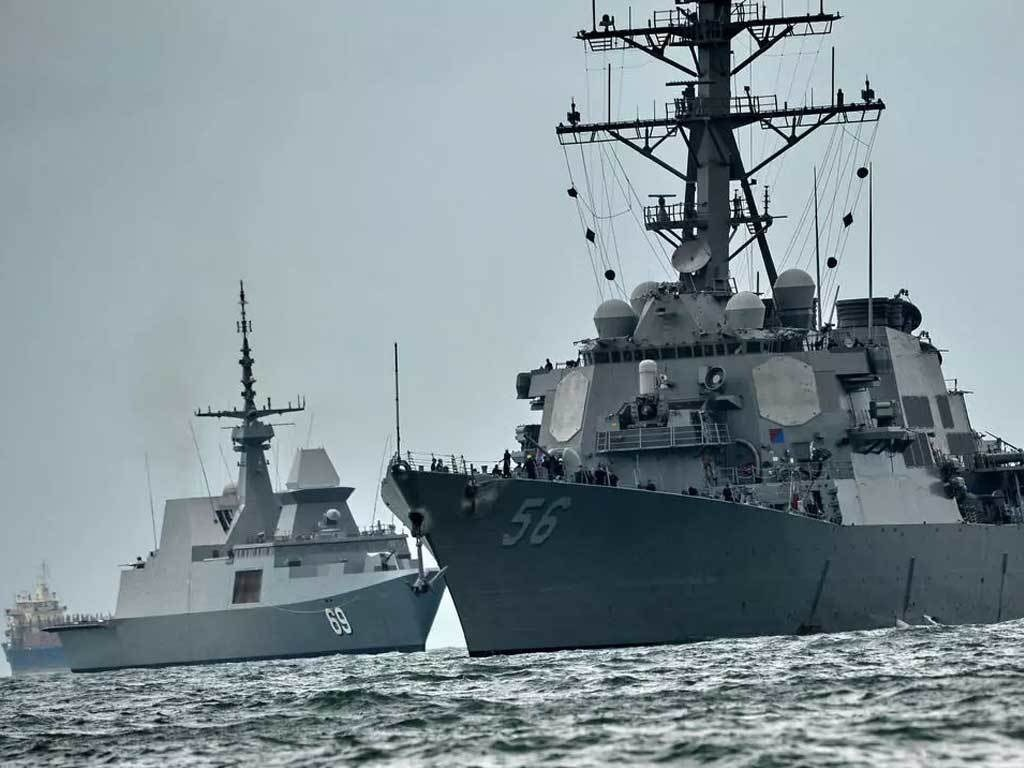 Taiwan Strait: China condemns US, Canada for sending warships