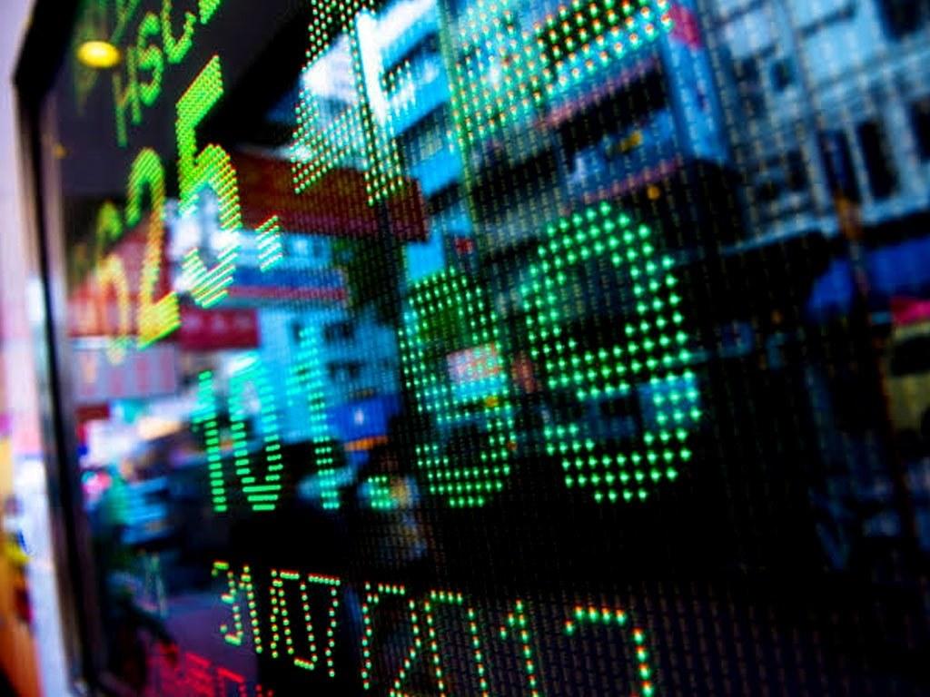 World stocks at 1-month high as bond yields soften