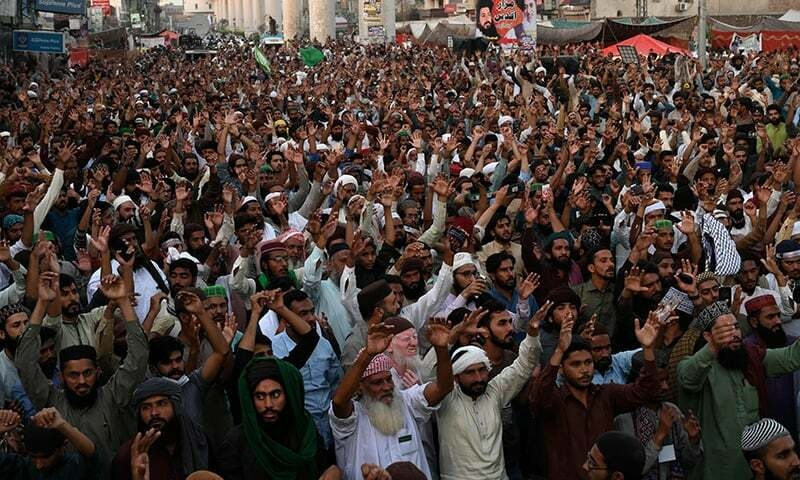 TLP converts march into sit-in after 'successful negotiations' with govt