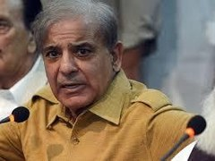 NAB, police officials gather outside Shehbaz Sharif's residence