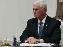 Pence says jobs report indicative of US economy beginning to recover