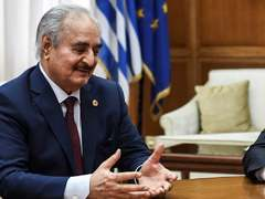 Libya's Haftar pulls back east as Tripoli offensive crumbles