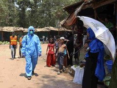 Virus outbreak in Rohingya camps 'contained': Bangladesh