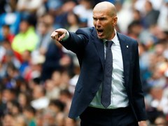 Zidane urges Madrid to finish the job with title in their grasp