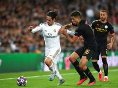 Manchester City face Real Madrid on Champions league return
