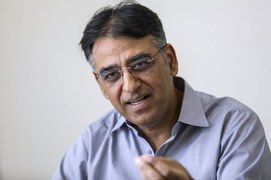 Moody's stable outlook testimony of Pakistan's 'V-shaped' recovery: Asad Umar
