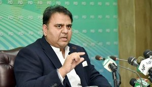 Video-link indictment of Zardari in graft case is welcoming sign, tweets Fawad