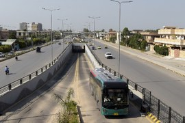 PM Imran inaugurates Peshawar BRT Project