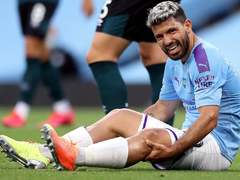 Aguero out till November
