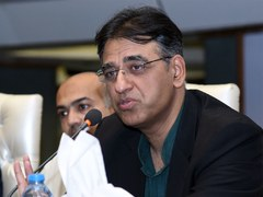 Asad Umar launches phase 3 trials of coronavirus vaccine