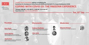 Coping with COVID-19: The Pakistan Experience