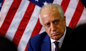 Khalilzad admits Taliban has yet to cut ties with Al Qaeda