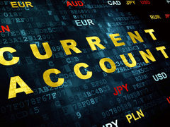 Current account in green