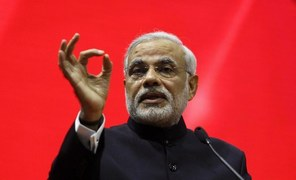 Modi features in Time Magazine's list of 100 most influential people, but there is a catch