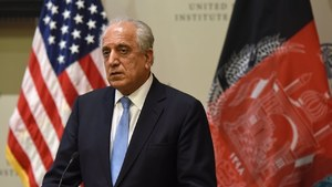 US ready to discuss Iran's role in Afghan peace process: Khalilzad