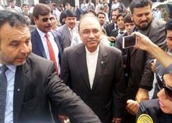 Court indicts Zardari, Talpur in money laundering case